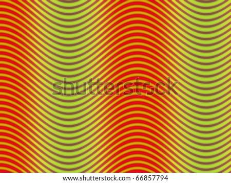 Op Art Flowing Stripes 01 58 350 - stock photo