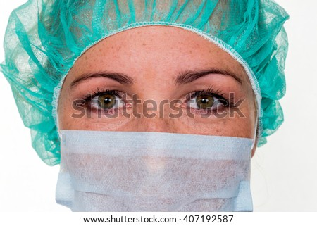 op nurse - stock photo
