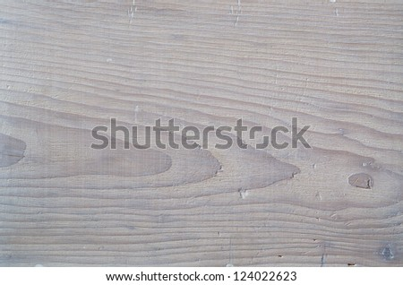 Opaque white wood plank - stock photo