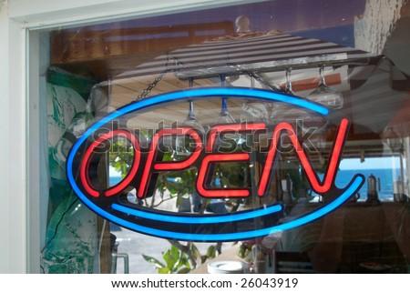 open - stock photo