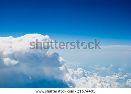 open air view - stock photo