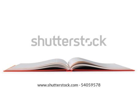 Open book. Educational concept. - stock photo