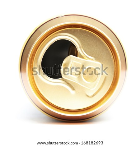 Open Drink Can - stock photo