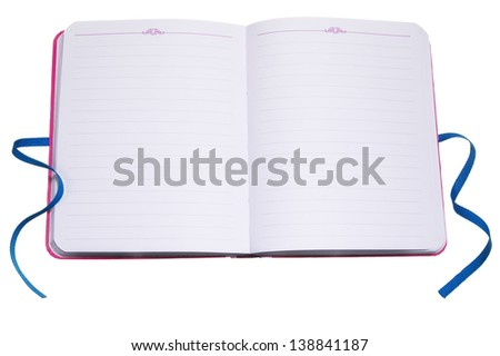 Open Journal - stock photo