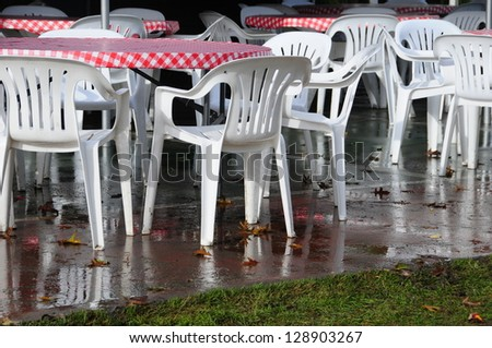 Open Seating - stock photo