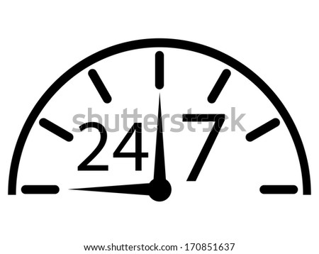opening hours - stock photo
