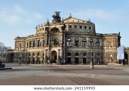 opera house Dresden,Germany - stock photo
