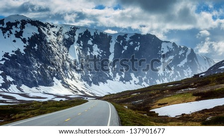 Opland, Norway - stock photo