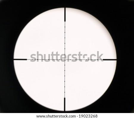 Optical sight - stock photo