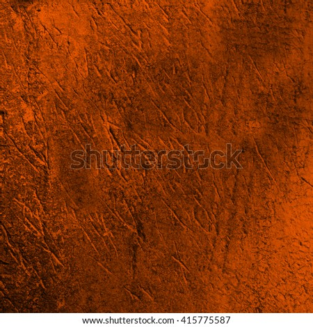 orange abstract background texture cement wall - stock photo