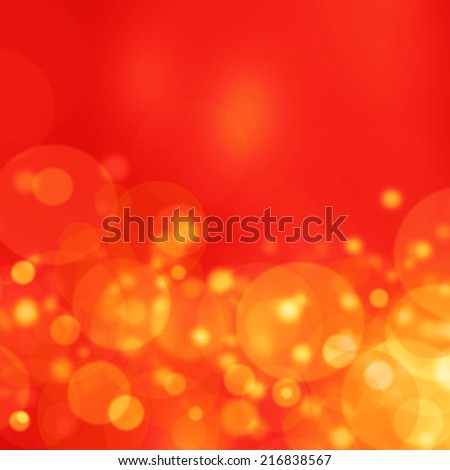 orange abstract light background  - stock photo