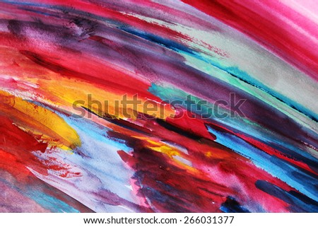 Orange and pink lines or Colorful lines background, Creative design - stock photo