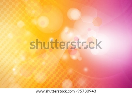 Orange and pink tone abstract background - stock photo