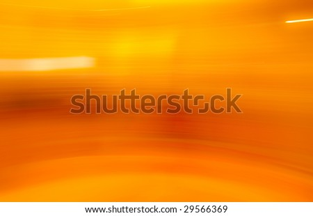 Orange and yellow golden abstract motion blur background. - stock photo