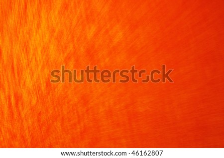 Orange Background with rays - stock photo