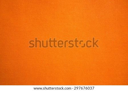orange cloth background - stock photo