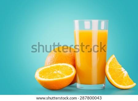 Orange Juice, Juice, Splashing. - stock photo