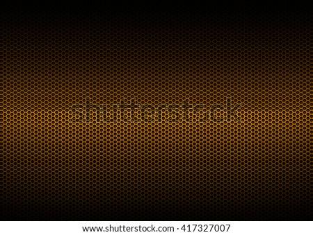 Orange Metal Plating, background - stock photo