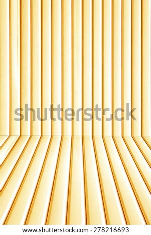 Orange metal sheet background. - stock photo