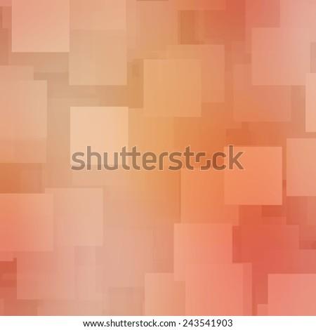 orange square background - stock photo