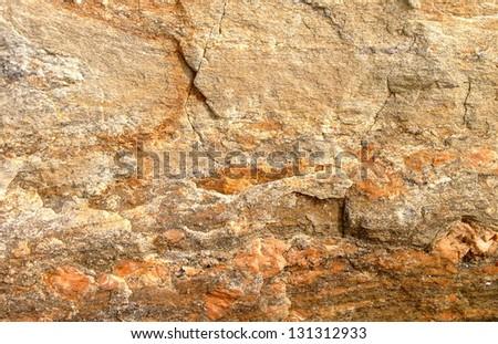 orange stone background - stock photo