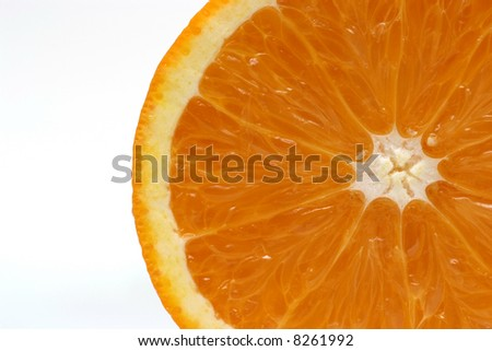 Orange structure - stock photo