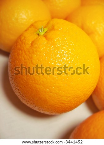 oranges - stock photo