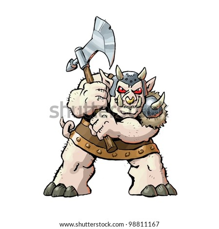 Orc - stock photo