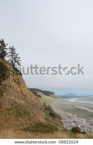 Oregon Coast - Cape Blanco - stock photo