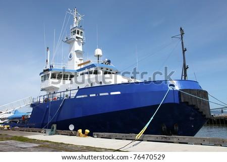 Oregon responder ship, Astoria OR. - stock photo