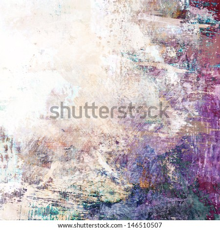 organic artistic structures, background, on canvas - stock photo
