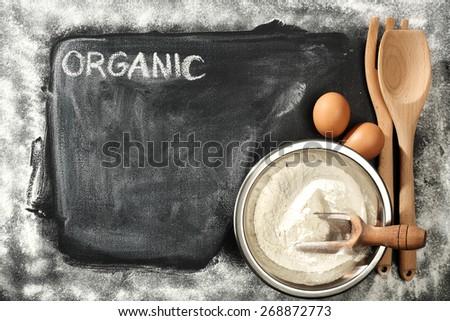organic food  - stock photo