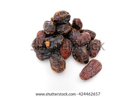 Organic Medjool Dates - stock photo