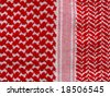 Oriental, bedouin like background. Arab keffiyah pattern. More of this pattern in my port. - stock photo