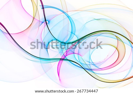 original abstract colorful art background - stock photo