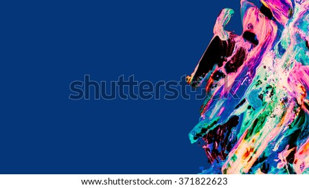 Original detailed design with space for message. Color transparency use to define colors, so you could change colors in few steps. Fully editable creative illustration. - stock photo