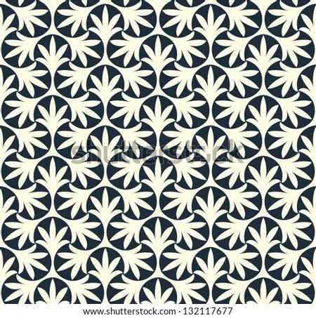 Ornamental seamless pattern. - stock photo