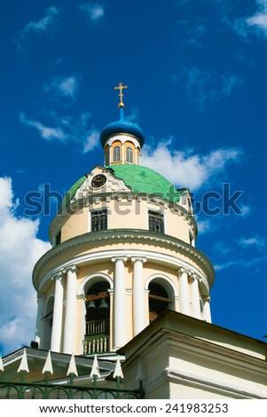 Orthodox church in Russia - stock photo