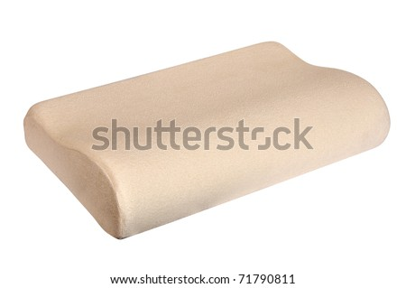 orthopedic pillow - stock photo