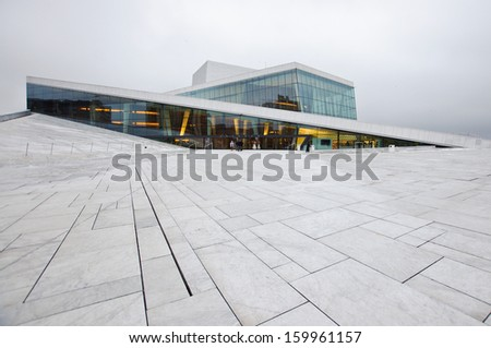 Oslo Opera House - stock photo