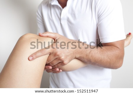 Osteopathy - stock photo