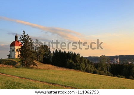 Ottobeuren - stock photo