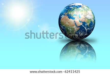 Our own Earth - stock photo