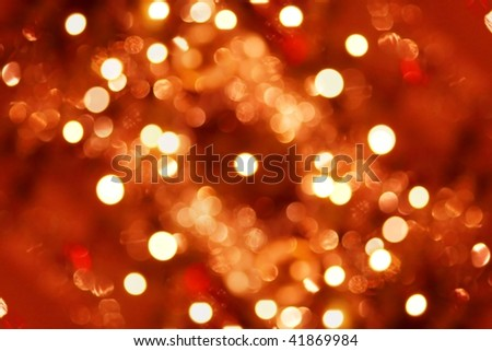 Out of focus light spots forming a background - stock photo
