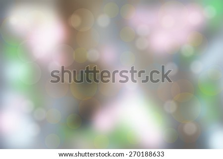 Out of focus natural  bokeh background - stock photo