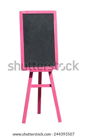 outdoor display menu board  - stock photo