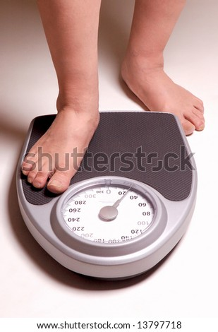 Over-Weight Male Risk - stock photo