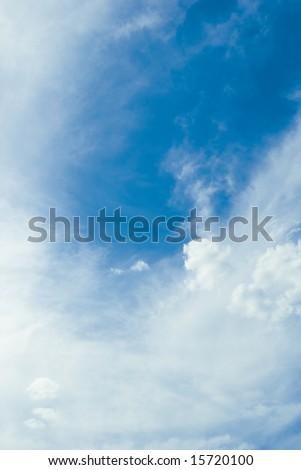 overcast sky - stock photo