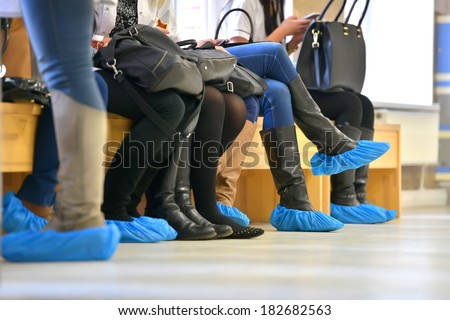 Overshoes - stock photo