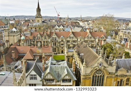 Oxford, England - stock photo